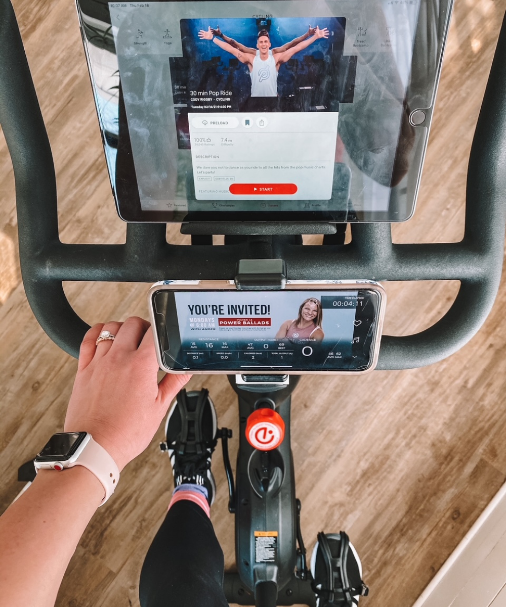 Amanda's OK Blog shares how to set up an Echelon bike to sync with the Peloton app
