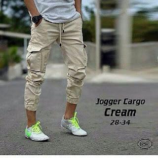celana jogger, celana jogger cargo, celana cargo, celana jogger pria