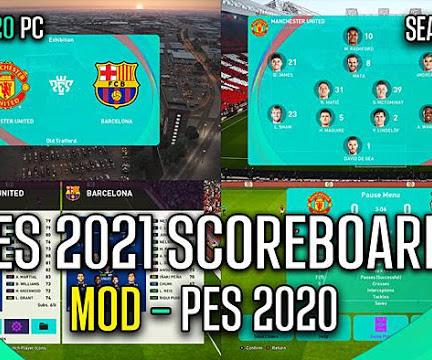 PES 2020 RT Scoreboard PES 2021