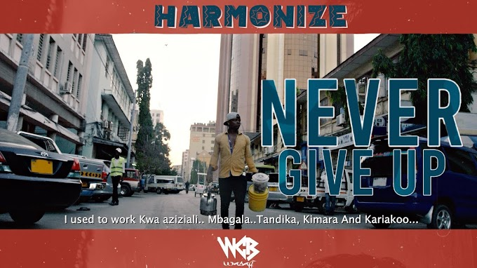 HARMONIZE - NEVER GIVE UP (OFFICIAL MUSIC VIDEO) | DOWNLOAD MP3