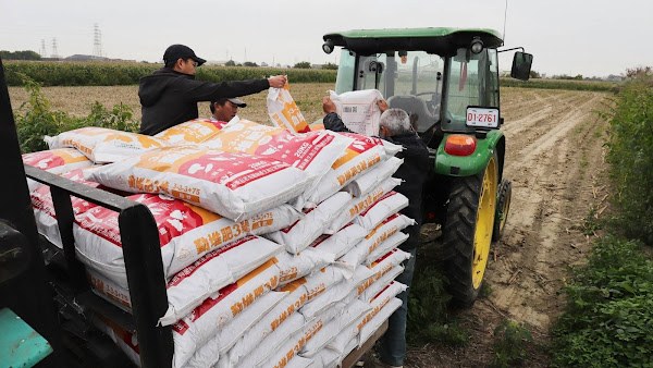 獎勵使用友善環境農業資材 農糧署補助農民肥料、農藥