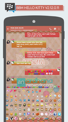 Review BBM Mod Hello Kitty v2.12.0.11 - 2