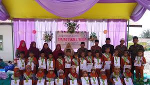 Pelepasan Siswa Siswi TPA B PAUD Miftakhul Mubin Desa Sungai Kuti