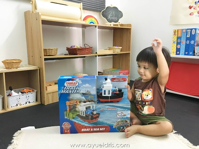 Thomas & Friends™ TrackMaster™ Boat & Sea Set Review