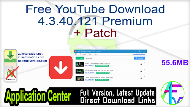 Free YouTube Download 4.3.40.121 Premium + Patch