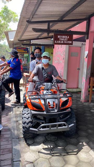 ATV di Pantai Baru Bantul