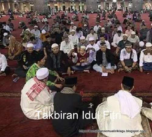 Takbiran Idul Fitri