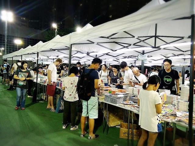 【香港社區書展】文青好活動 閱讀在銅鑼灣