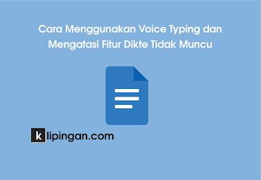 Cara Mengaktifkan Google Voice Typing