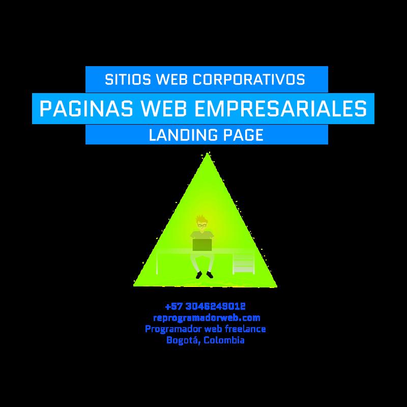 Diseño de Paginas web empresariales en Bogota