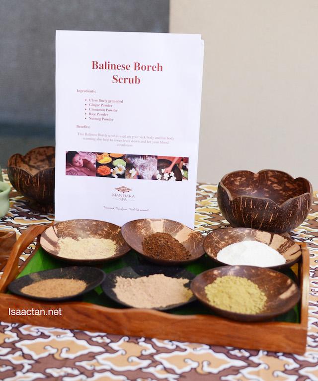 Balinese Boreh Scrub