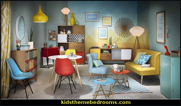 retro mod decorating style Retro Decor mid century mod style decorating