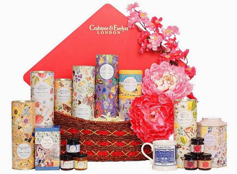 Crabtree & Evelyn Prosperity Fine Food Hamper, Crabtree & Evelyn, CNY Fine Food Collection 2015, Chinese New Year Fine Food Hamper, Fine Food, Pear and Pink Magnolia Bath and Body, Crabtree & Evelyn CNY, CNY 2015