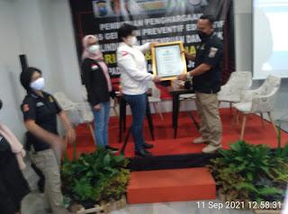 Unit Polres Jember Dapat Penghargaan dari Komnas Pa