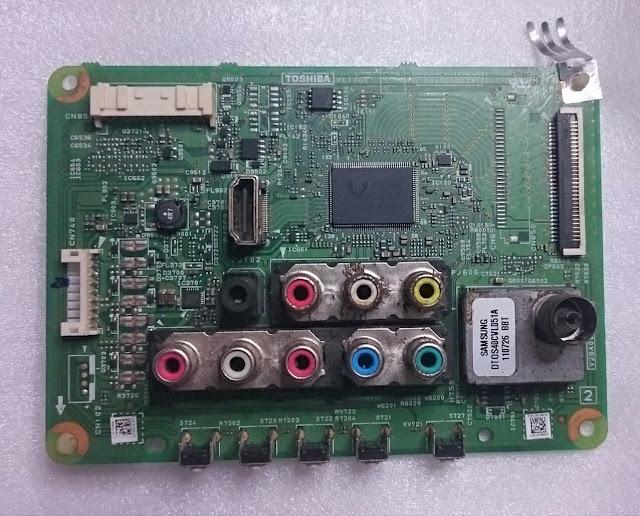 Mainboard TV LCD TOSHIBA 19-Inch (19HV10E)