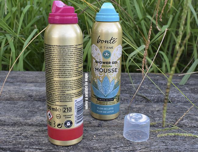 Shower Gel Textura Mousse o espumas de ducha de CLAREL