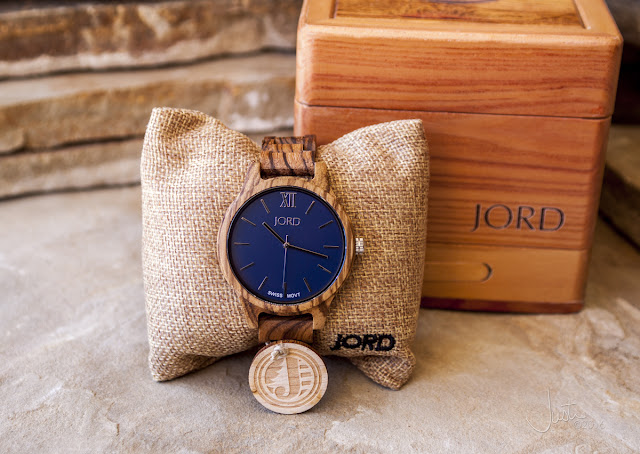 JORD men's wood watch
