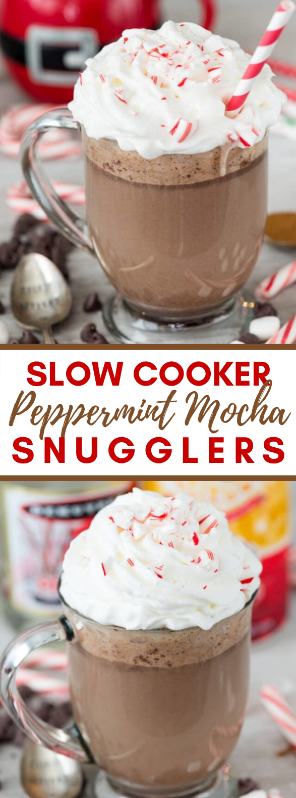 Slow Cooker Peppermint Mocha Snugglers #drinks #kidfriendly