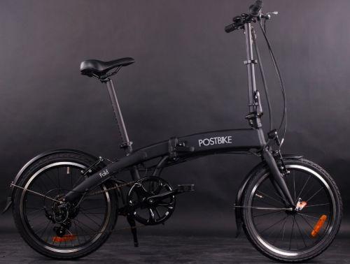 Test Elektrische Vouwfietsen Postbike Fold Testwinnaar Fietsen 2020