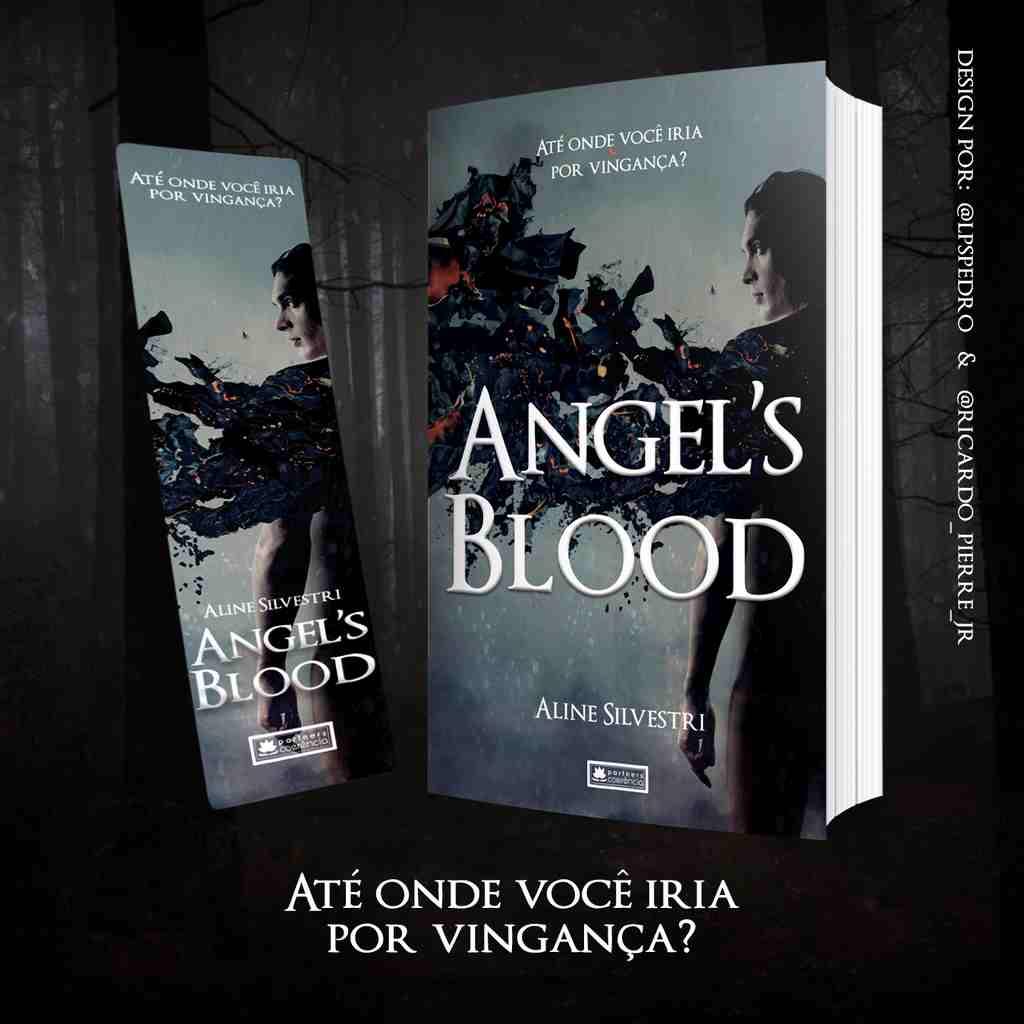 : livro Angel's Blood, de Aline Silvestri foi indicado para o Coerência Choice Awards 2020