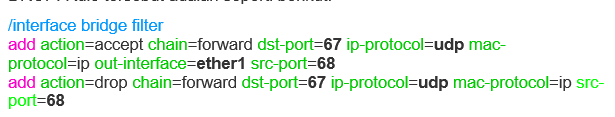 Cara pencegahan multiple DHCP Server ( DHCP Rogue) 3