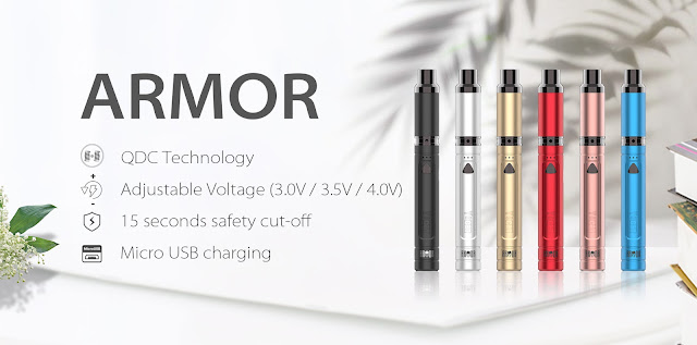 Yocan Armor Ultimate Portable Vaporizer Pen