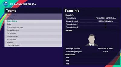 Serbian league pes21 sp21