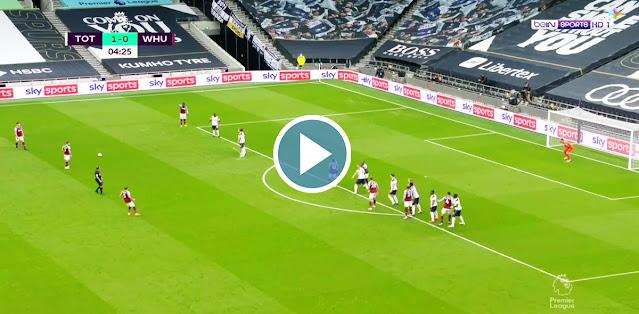 Tottenham vs West Ham United Live Score