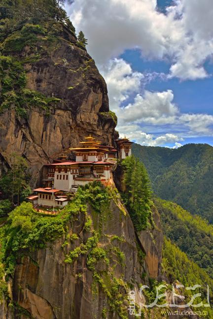 Tiger's Nest Monastery (Portrait) | Bhutan