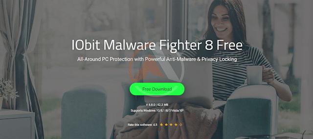 برنامج IObit Malware Fighter 8 PRO للحمايه من البرامج الضاره