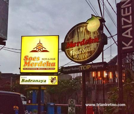 merdeka food stall