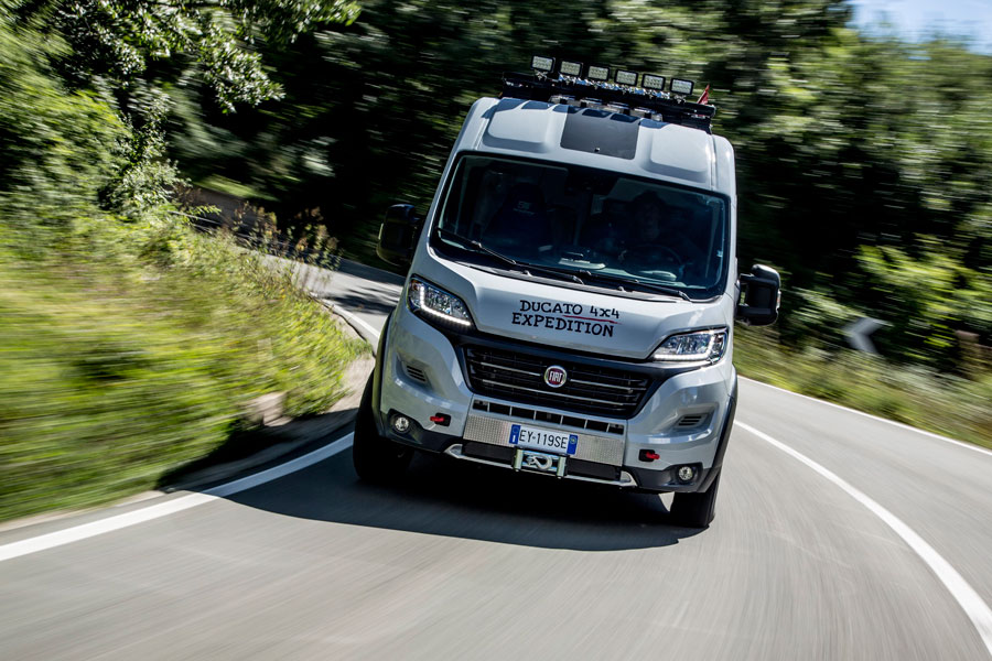 Fiat Ducato X Expedition Front