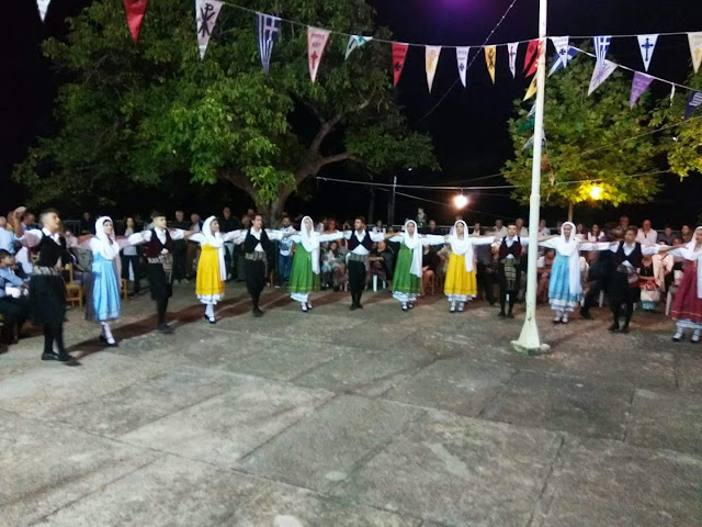 Εξαιρετική χορευτική  παρουσία της Ελληνικής Παράδοσης στη Φρουσιούνα
