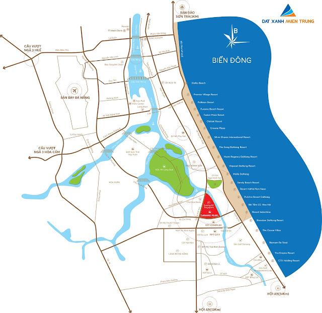Vị trí đắc địa có 1 0 2 của One River Villas