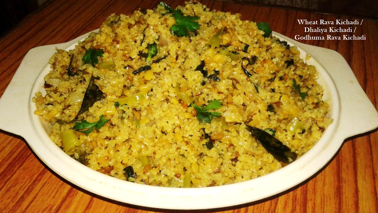 daliya recipes