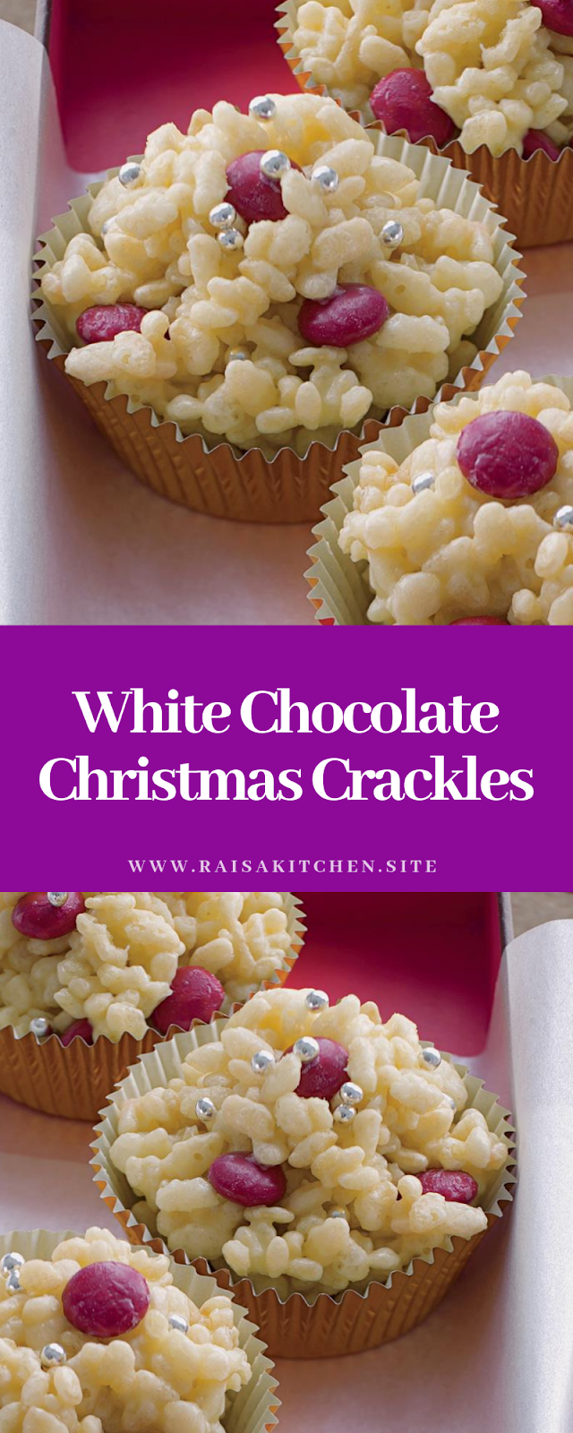 White Chocolate Christmas Crackles