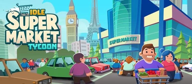 حول تاجر سوبر ماركت الخمول Idle Supermarket Tycoon