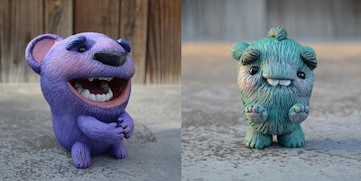 New Monster & Conchitas Resin Figures by Vanessa Ramirez
