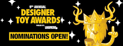 The 9th Annual Designer Toy Awards Nominations Are Now Open!