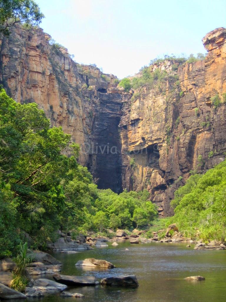 Jim Jim Falls, Kakadu National Park, Northern Territory, Australie