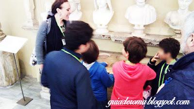 guia De Roma criancas portugues - Visita guiada aos Museus Vaticanos, Capela Sistina e Basilica de S. Pedro com guia particular