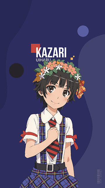 Kazari Uiharu - Toaru Kagaku no Railgun Wallpaper