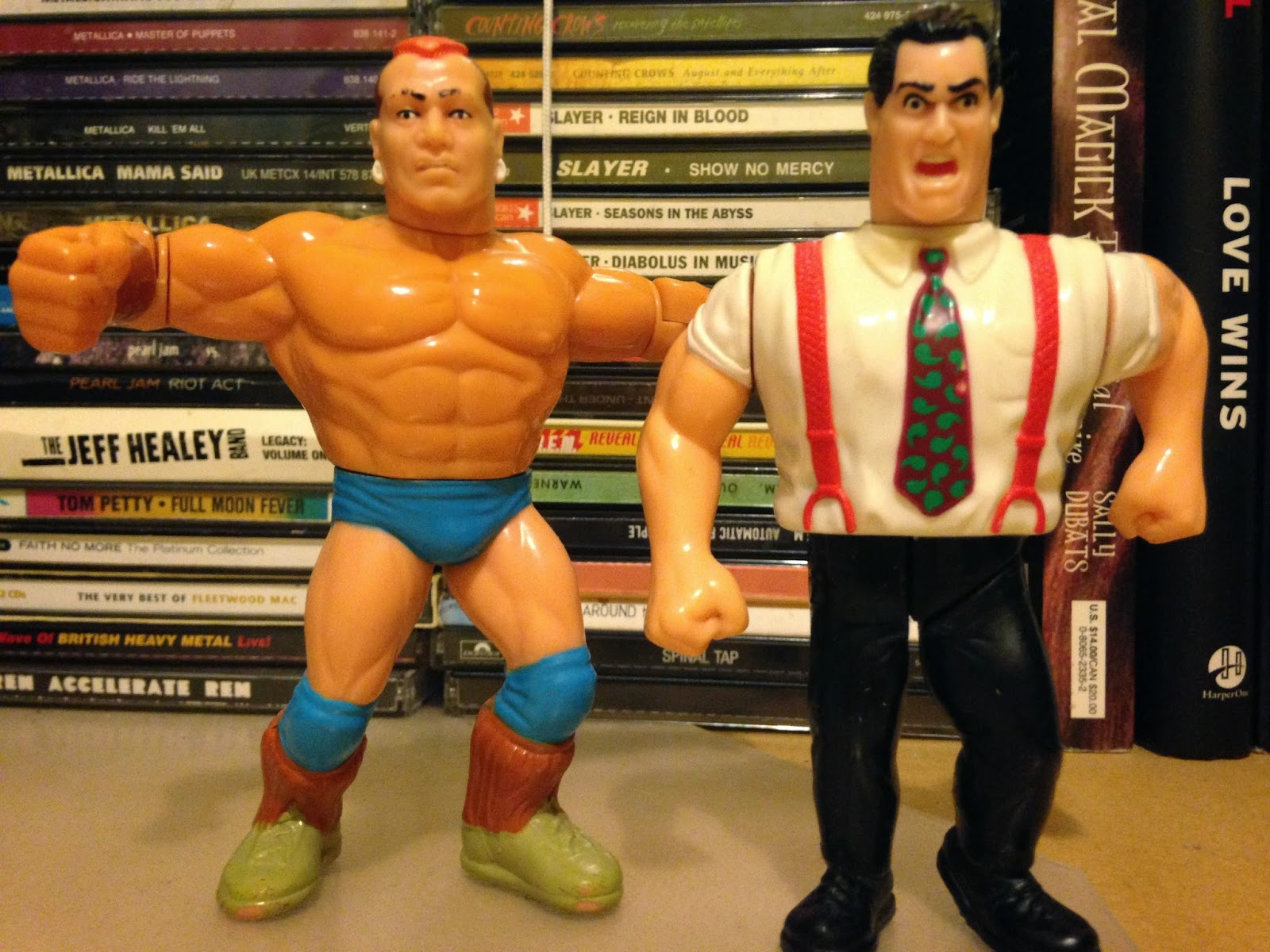 WWF Hasbro Figures - IRS and Tatanka renew their rivalry