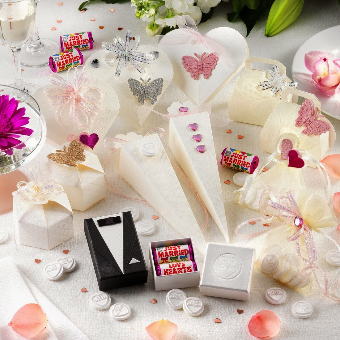 Winter Ideas Wedding Favours  The Bridal Gallery