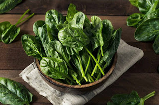 cheap food and nutrias spinach