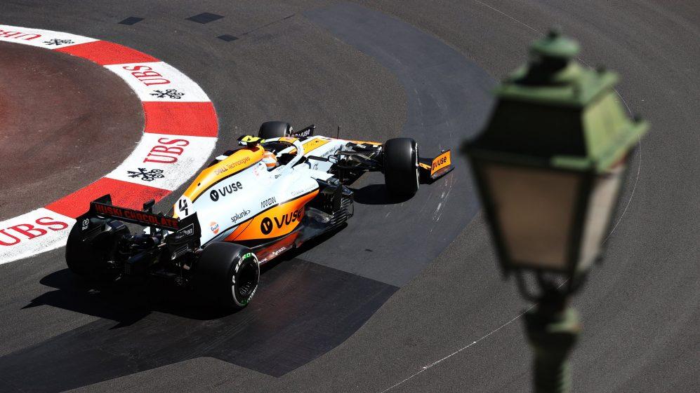 Tanto o carro quanto o motorista da McLaren (pelo menos no caso de Lando Norris) pareciam bem em Mônaco