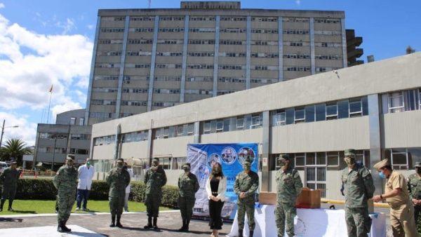 Hospital militar ecuatoriano colapsa por casos de la Covid-19