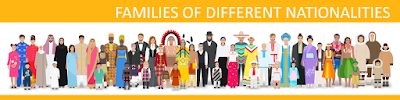 Families of different nationalities