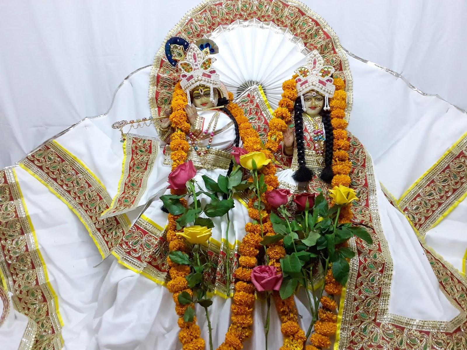 15 th स्थापना दिवस महोत्सव कीर्तन - राधा कृष्ण मंदिर - 3-7-2018