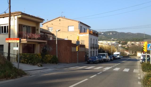 Estacionament en la Pobla de Calaramunt